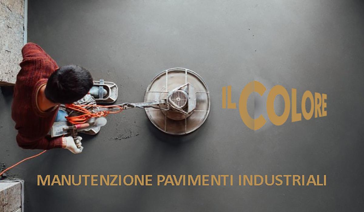 Manutenzione pavimenti industriali Il Colore Brescia