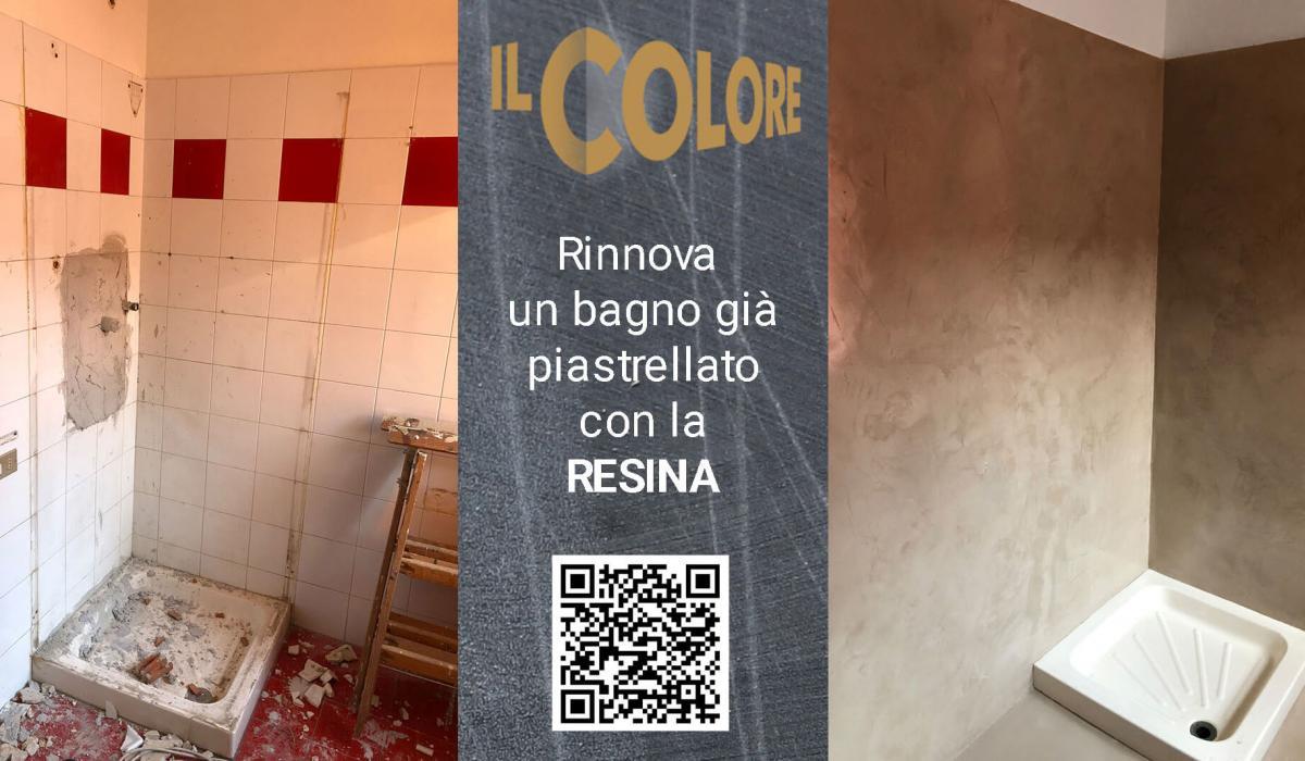 rifacimento Bagno in resina  - Il Colore