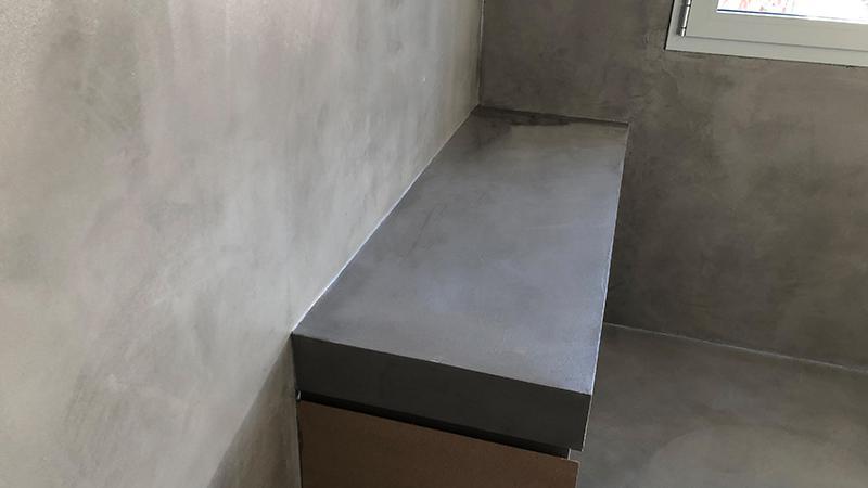 Rinnovo bagno in resina a Brescia - Il Colore