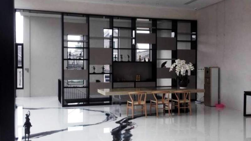 Resina decorativa residenziale brescia - Il Colore