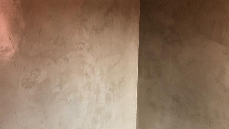 Resina spatolata decorativa brescia - Il Colore