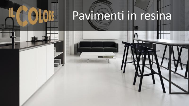 Pavimenti in resina - Il Colore Brescia